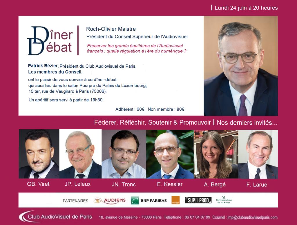 Invitation Roch-Olivier Maistre