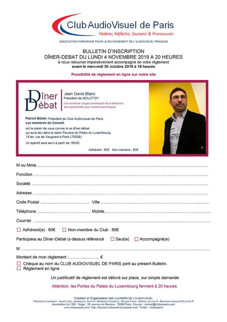 Visuel Bulletin Jean-David Blanc