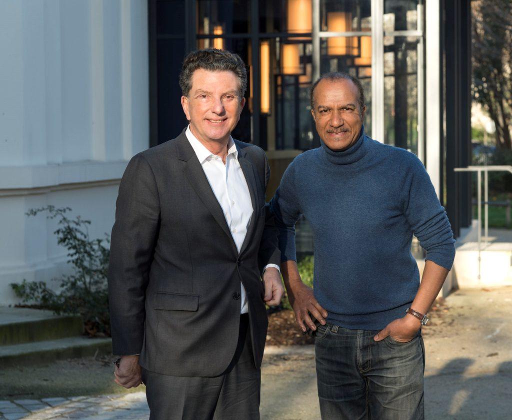 Patrick Bézier et Pascal Légitimus