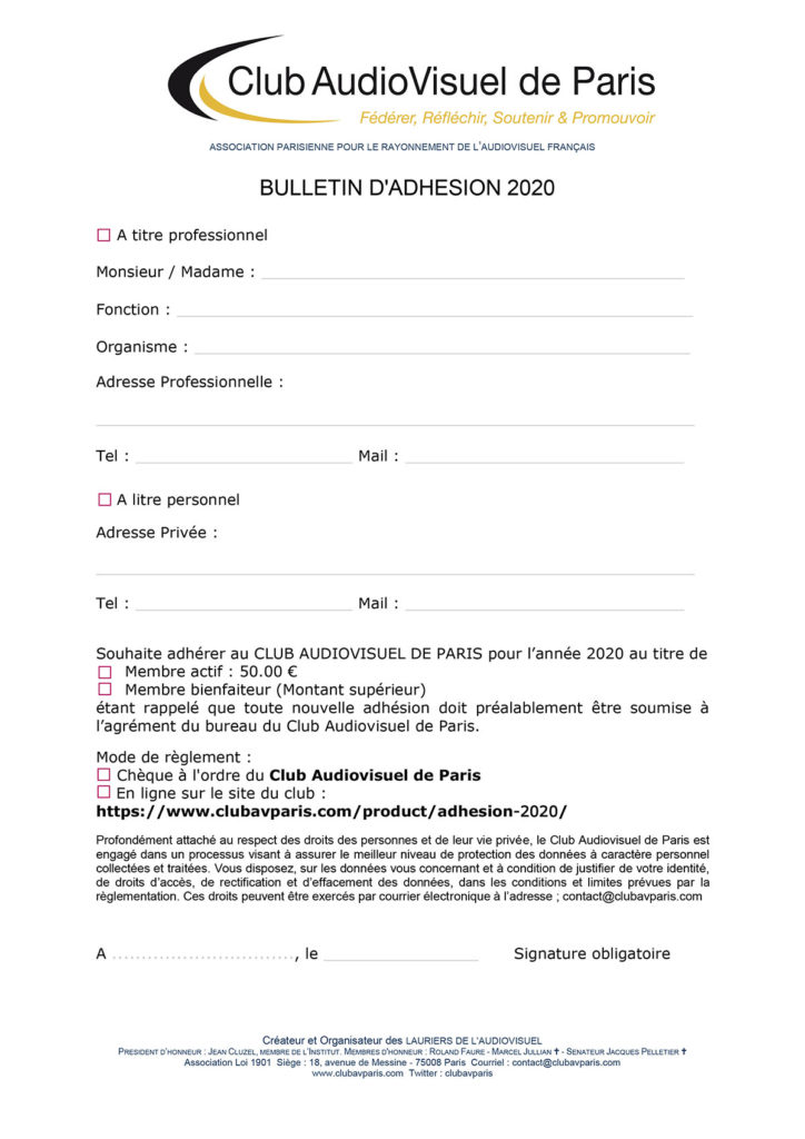 visuel adhésion 2020