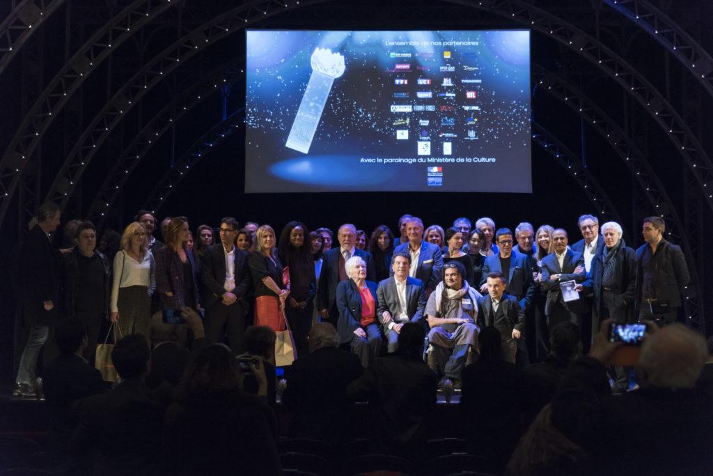 25e lauriers de l'audiovisuel, theatre marigny, 10 février 2020