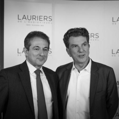 25ème cérémonie des Lauriers de l'Audiovisuel. Théatre Marigny. Paris