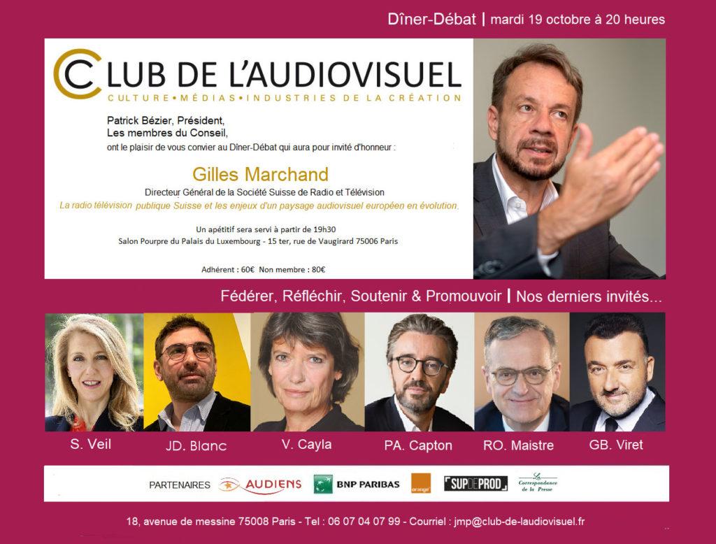 Invitation Gilles Marchand